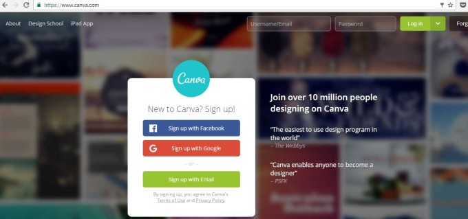 canva free tool for graphic content