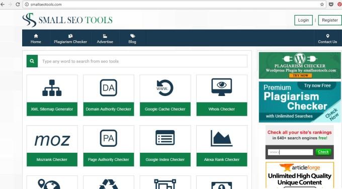 small-seo free tool